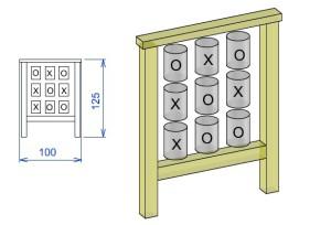 D1 Didaktična tabla križci in krogci