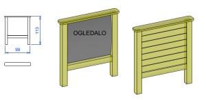 D2 Didaktična tabla ogledalo