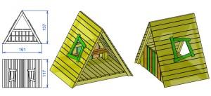 H4 Otroška hišica ŠPELA