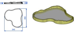 P6 Peskovnik iz okroglic OLI