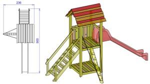 S13 enojni stolp TILEN