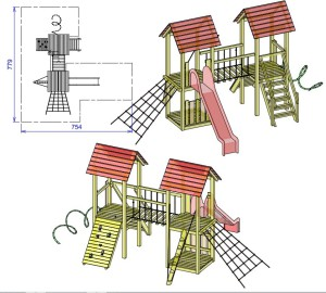 S14 dvojni stolp TILEN